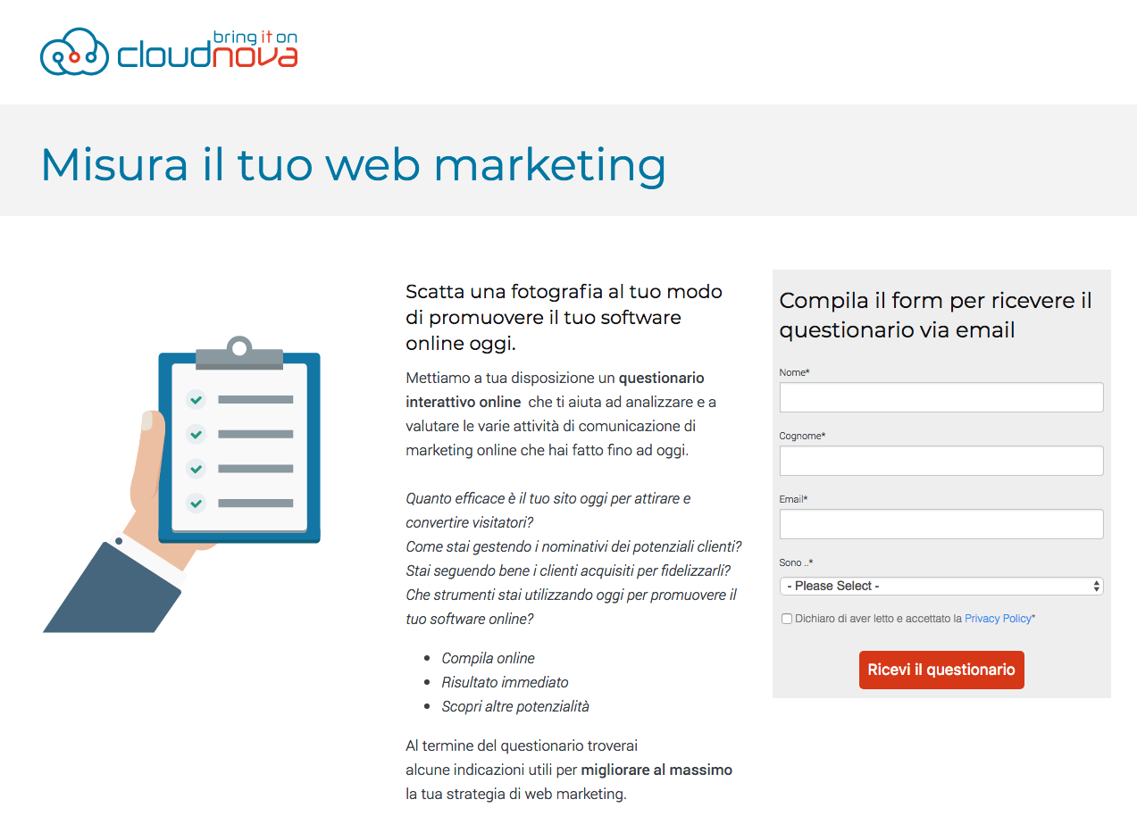 Inbound Marketing: cosa sono le Landing Pages e come usarle per convertire